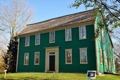Newton, mA: Casa 1734 de Durant-Kenrick Foto de archivo libre de regalías