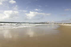 Newton Navarro Bridge, Natal. Redinha Nova beach in Natal, RN, Brazil Stock Images
