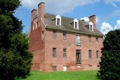 Newton Neck, Maryland: Newton Hall Stock Photo
