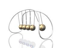 Newton Pendulum 3D Royalty Free Stock Photo