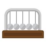 Newton Pendulum ilustración del vector