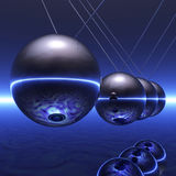 Newton Pendulum Stock Images