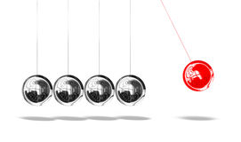 Newton pendulum Royalty Free Stock Photography