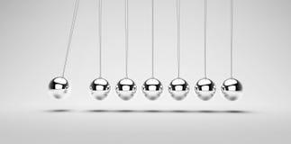 Newton's balls Royalty Free Stock Image