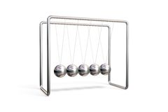 Newton's cradle Stock Images