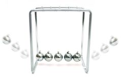 Newton S Cradle Stock Image