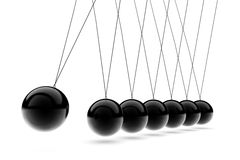 Newton's Cradle Stock Photography