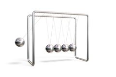 Newton S Cradle Stock Photography