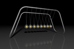 Newton's cradle BUSINESS Stock Image