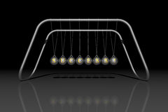 Newton's cradle SUCCESS Stock Photos