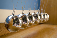 Newton's Cradle Royalty Free Stock Photo