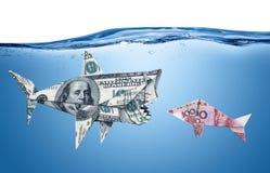 newton s för valuta för bollclickervaggan kriger executive Arkivbild
