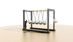 Newtons Cradle Stock Photography