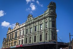 Ιδιωματική αρχιτεκτονική, Newtown, NSW, Σίδνεϊ, Αυστραλία στοκ φωτογραφίες με δικαίωμα ελεύθερης χρήσης
