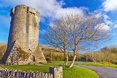 Newtown slott i Co. Clare Royaltyfri Fotografi