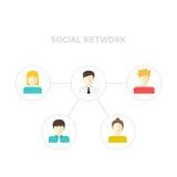 Newtwork social Fotos de archivo