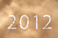 Newyear 2012 Stock Photos
