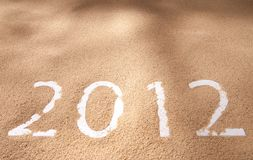 Newyear 2012 Royalty Free Stock Image