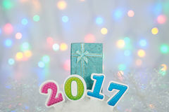 2017newyear Photo stock