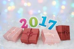 2017newyear Imagem de Stock Royalty Free