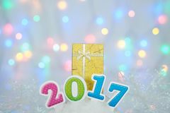 2017newyear Fotos de Stock Royalty Free