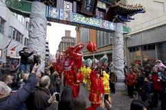 Newyear chinês Fotos de Stock Royalty Free