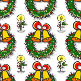 NewYear Pattern Stock Images