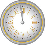 NewYearClock Royalty Illustrazione gratis
