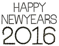 Newyears felici 2016 Immagini Stock Libere da Diritti