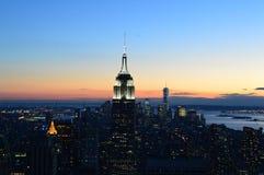 Newyork Aerial View Royalty Free Stock Image