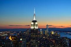 Newyork Manhattan Skyline at Night