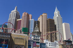 Newyork-newyork hotel Royalty Free Stock Photography