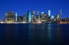 Newyork at Night Royalty Free Stock Photos