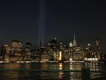 Newyork od Brooklyn Obrazy Royalty Free