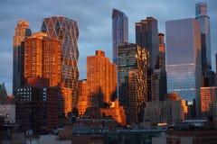 NewYork-Skyline Stockbild