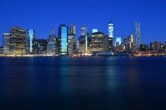 Newyork before Sunrise Royalty Free Stock Image