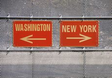 newyork washington Royaltyfri Foto