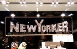 NewYorker надписи в торговом центре стоковое фото
