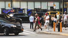 Newyorkesi nella via Immagine Stock Libera da Diritti