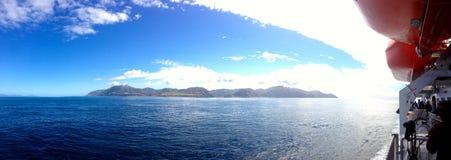 Newzealnd d'ion de ferry Photo libre de droits