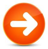 Next arrow icon elegant orange round button Royalty Free Stock Images