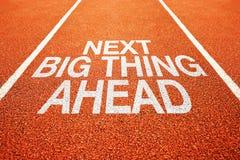 Next big thing ahead Stock Image
