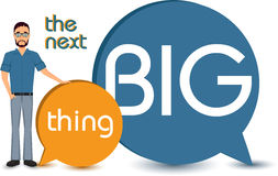 The next big thing concept Royalty Free Stock Images