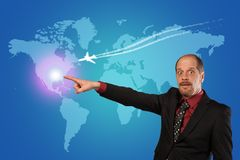 Next Business trip royalty free stock photography