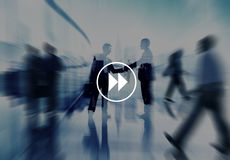 Next Button Partnership Agreement Corporate City Concept Royalty Free Stock Photography
