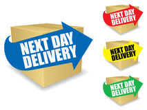 Next Day Delivery Icon EPS Royalty Free Stock Photography