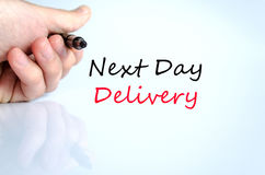 Free Next Day Delivery Text Concept Stock Photo - 86600230