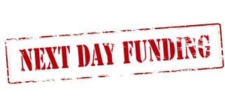 Next day funding Royalty Free Stock Photos