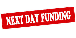 Next day funding Royalty Free Stock Image