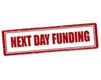 Next day funding Stock Photos